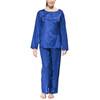 Traveler's Tree Travel Pyjama Women 1001 blue
